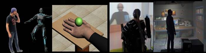 Virtual Reality and Brain Control of Artificial Agents
